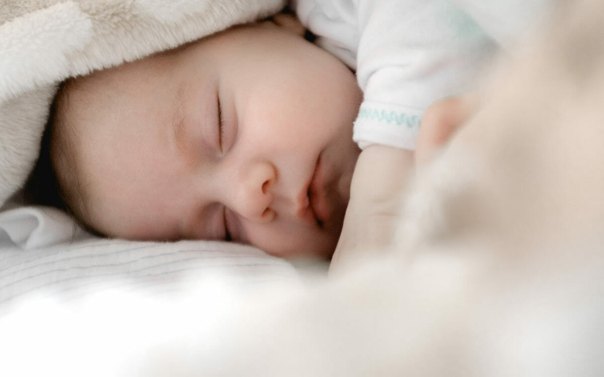 baby sleeping peacefully