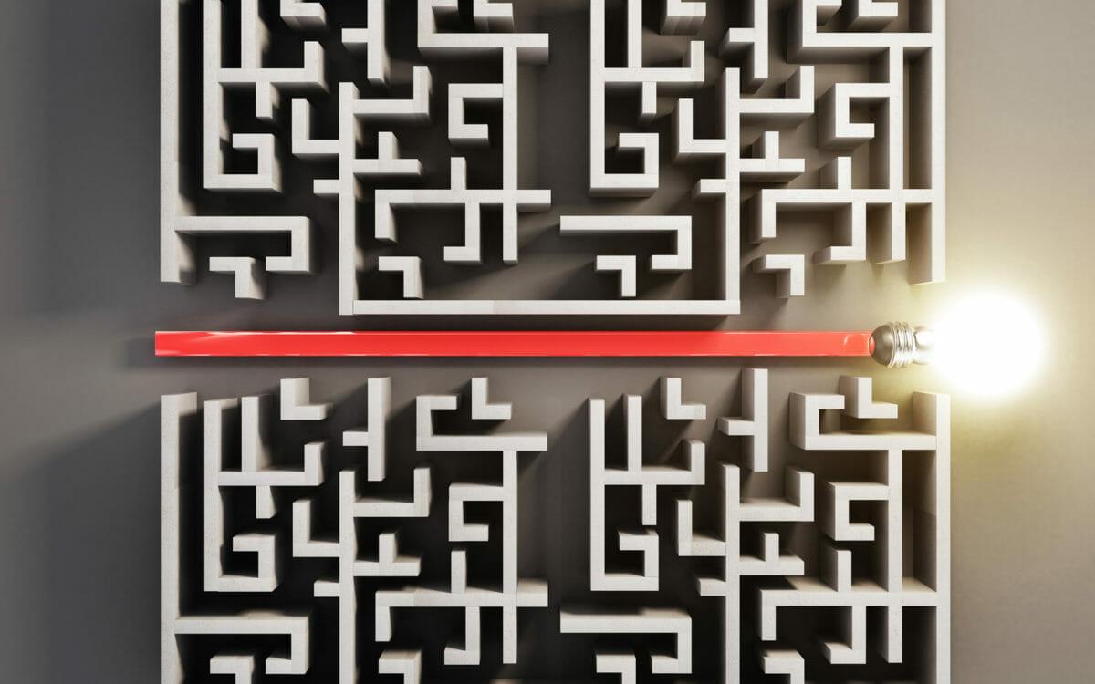 easy maze