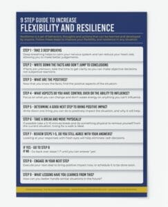 9 Step Guide to Increase Flexibility and Resilience